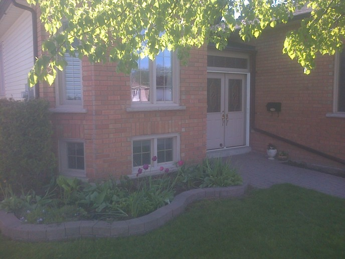 Existing Garden Wall and Pavers