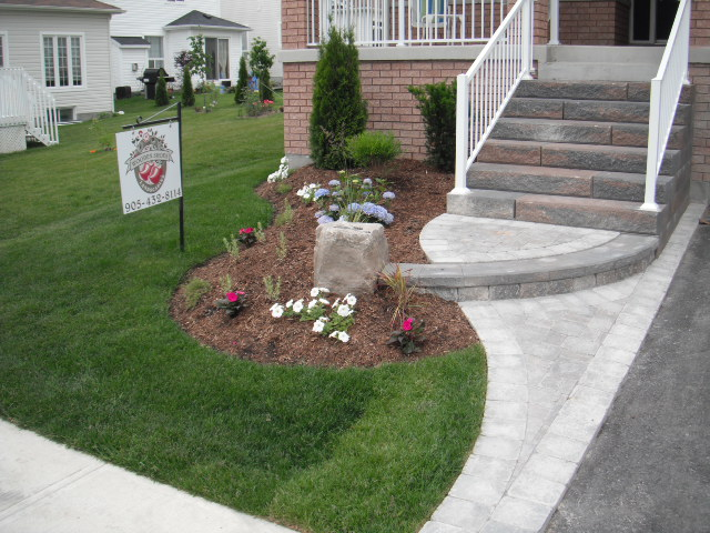 Garden Planted by Homeowner