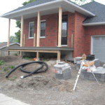Front of Home before excavation