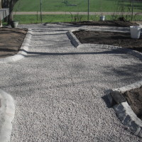 Pea Gravel Pathways - 01