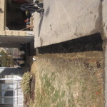 Digout for Driveway Soldier Course
