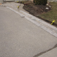Front Pathway Laid