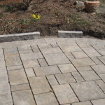 Installing Natural Stone Raised Garden Edge
