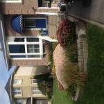 Existing landscaping