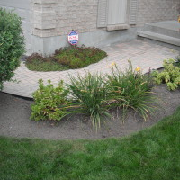 Existing front walkway