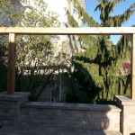 Natural stone retaining wall coping & pillar caps - Algonquin Brown