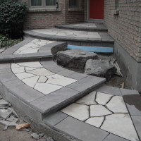 Random flagstone - salvaged during removal